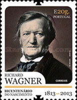 [The 200th Anniversary of the Birth of Richard Wagner, 1813-1883, Typ DMO]