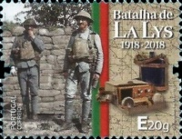 [The 100th Anniversary of the Battle of the Lys, Typ EIO]