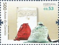 [The 500th Anniversary of Postal Service in Portugal, Typ ELW]