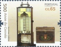 [The 500th Anniversary of Postal Service in Portugal, Typ ELX]