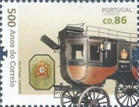 [The 500th Anniversary of Postal Service in Portugal, Typ ELY]