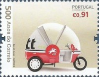 [The 500th Anniversary of Postal Service in Portugal, Typ ELZ]