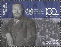 [The 100th Anniversary of the ILO - International Labour Organization, type EOE]