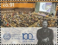 [The 100th Anniversary of the ILO - International Labour Organization, type EOF]