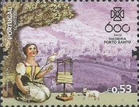 [The 600th Anniversary of the Discovery of Madeira, type EOQ]