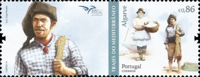 [EUROMED Issue - Traditional Costumes, type EOZ]