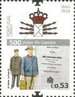 [The 500th Anniversary of Postal Service in Portugal, type EQE]