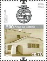 [The 500th Anniversary of Postal Service in Portugal, type EQF]