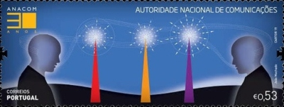 [The 30th Anniversary of ANACOM - National Communications Authority, type EQK]