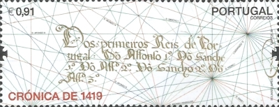[The 600th Anniversary of the Chronicle of Portugal of 1419, type EQY]
