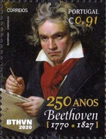 [The 250th Anniversar of the Birth of Ludwig van Beethoven, 1770-1827, type ERN]