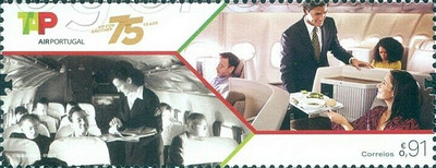 [The 75th Anniversary of TAP - Air Portugal, type ETB]