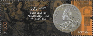 [The 300th Anniversary of the Royal Academy of History, type ETE]