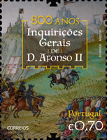 [The 800th Anniversary of General Inquiries of King Afonso II, 1185-1223, type ETG]