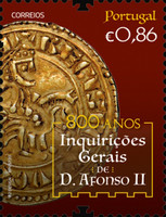 [The 800th Anniversary of General Inquiries of King Afonso II, 1185-1223, type ETH]