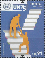 [The 75th Anniversary of the United Nations, type EUP]
