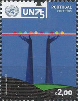 [The 75th Anniversary of the United Nations, type EUQ]