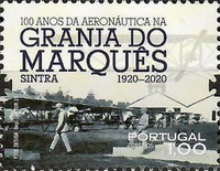 [The 100th Anniversary of Aeronautics at the Granja do Marques, type EUX]