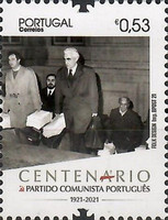 [The 100th Anniversary of the Portuguese Communist Party, type EVY]