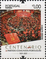 [The 100th Anniversary of the Portuguese Communist Party, type EVZ]