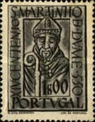 [The 100th Anniversary of the Arrival at the Iberian Island of the Holy Martin of Braga, Typ GV]