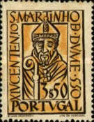 [The 100th Anniversary of the Arrival at the Iberian Island of the Holy Martin of Braga, Typ GV1]