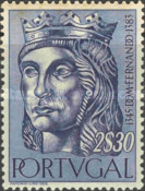 [In Memorial to the  First Dynasty of Portugal, Typ HM]