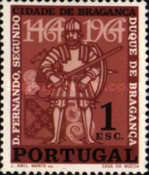 [The 500th Anniversary of the City of Braganca, type KV]