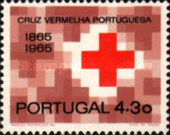 [The 100th Anniversary of the Portuguese Red Cross, type KZ2]