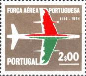 [The 50th Anniversary of the Portuguese Air Force, type LB1]