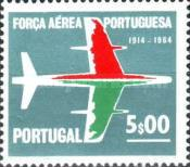 [The 50th Anniversary of the Portuguese Air Force, type LB2]