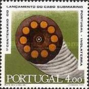 [The 100th Anniversary of the Portugal-Great Britain Telegraph Cable, type NY1]