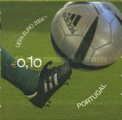 [The Official Ball of the European Football Championship, Portugal - Self-Adhesive, Typ ZEA]