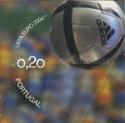 [The Official Ball of the European Football Championship, Portugal - Self-Adhesive, Typ ZEB]
