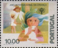 [International Year of the Child - With Flourescent Stripe, Typ ZP]