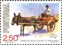 [International Stamp Exhibition BRASILIANA - Horse Carriages, Typ ZX]
