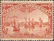[The 400th Anniversary of Vasco da Gama's Voyage to India, type B]