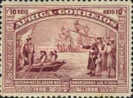 [The 400th Anniversary of Vasco da Gama's Voyage to India, type C]