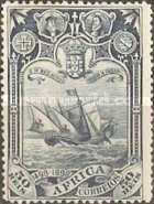 [The 400th Anniversary of Vasco da Gama's Voyage to India, type E]