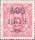 [King Carlos I of Portugal - Stamps of 1894 Surcharged, type D11]