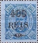 [King Carlos I of Portugal - Stamps of 1894 Surcharged, Typ D12]