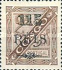 [King Carlos I of Portugal - Stamps of 1894 Surcharged, type D4]