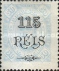 [King Carlos I of Portugal - Stamps of 1894 Surcharged, type D6]