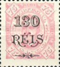 [King Carlos I of Portugal - Stamps of 1894 Surcharged, type D8]