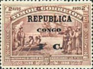 [Vasco da Gama Stamps of Timor Overprinted