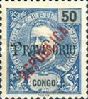 [King Carlos I Stamps of 1898-1903 Overprinted in Green or Red, type O]