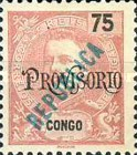 [King Carlos I Stamps of 1898-1903 Overprinted in Green or Red, type O3]