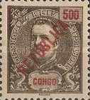 [King Carlos I Stamps of 1898-1903 Overprinted in Green or Red, type O8]