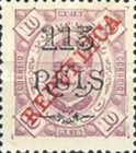 [King Carlos I Stamps of 1902-1903 Overprinted, type P4]