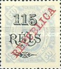 [King Carlos I Stamps of 1902-1903 Overprinted, type P5]
